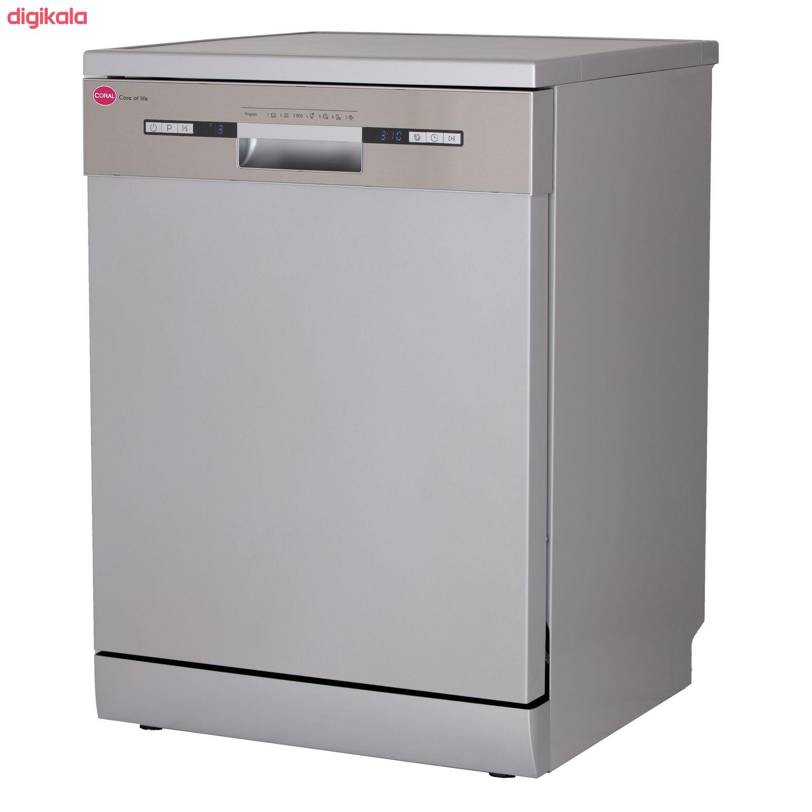 ماشین ظرفشویی کرال مدل DS 1417 main 1 2
