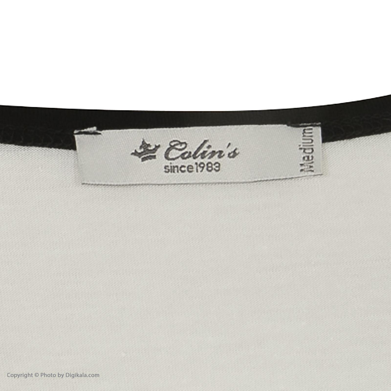 تی شرت زنانه کالینز مدل CL1032902-OFF WHITE main 1 5