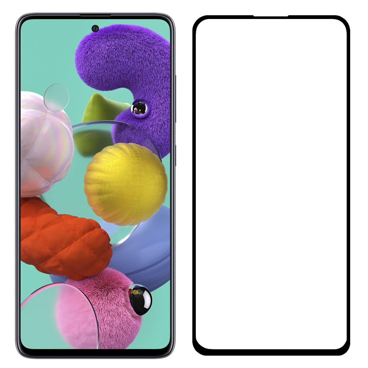 محافظ صفحه نمایش مدل FCG مناسب برای گوشی موبایل سامسونگ Galaxy A51