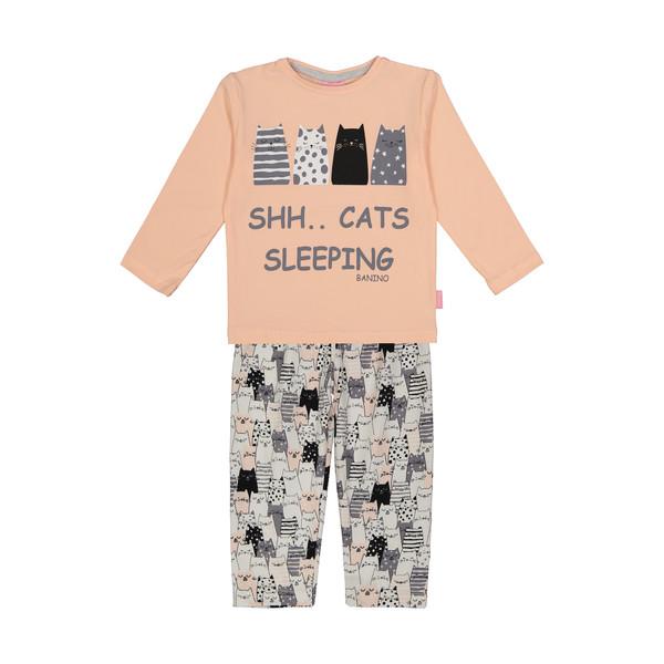 ست تی شرت و شلوار راحتی دخترانه بانی نو مدل 2191113-20