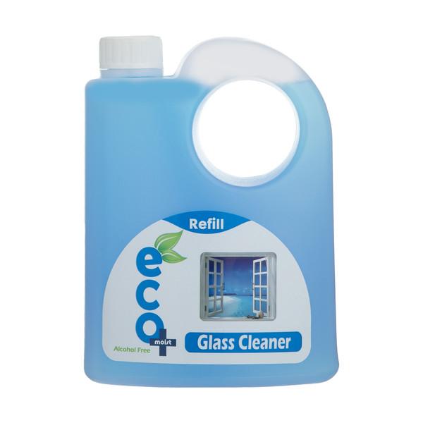مایع شیشه شوی ایکومویست مدل آبی مقدار 1 کیلوگرم