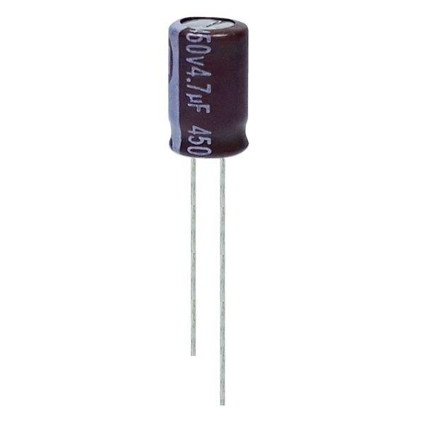 خازن الکترولیت 4.7 میکروفاراد 450 ولت آکسبوم مدل TEC-470450