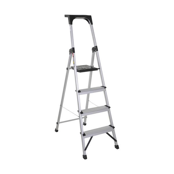 نردبان 4 پله آلوم پارس پله مدل اطلس