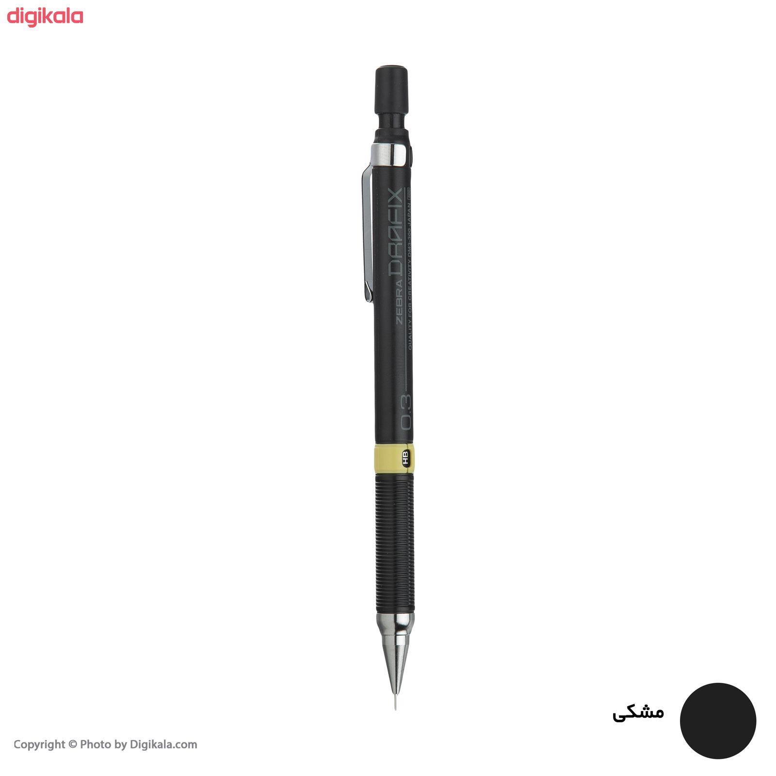 مداد نوکی 0.3 میلی متری زبرا مدل Drafix main 1 3
