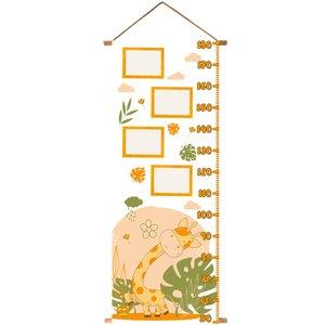 متر اندازه گیری کودک نی نی شادی طرح Giraffe کد NS110