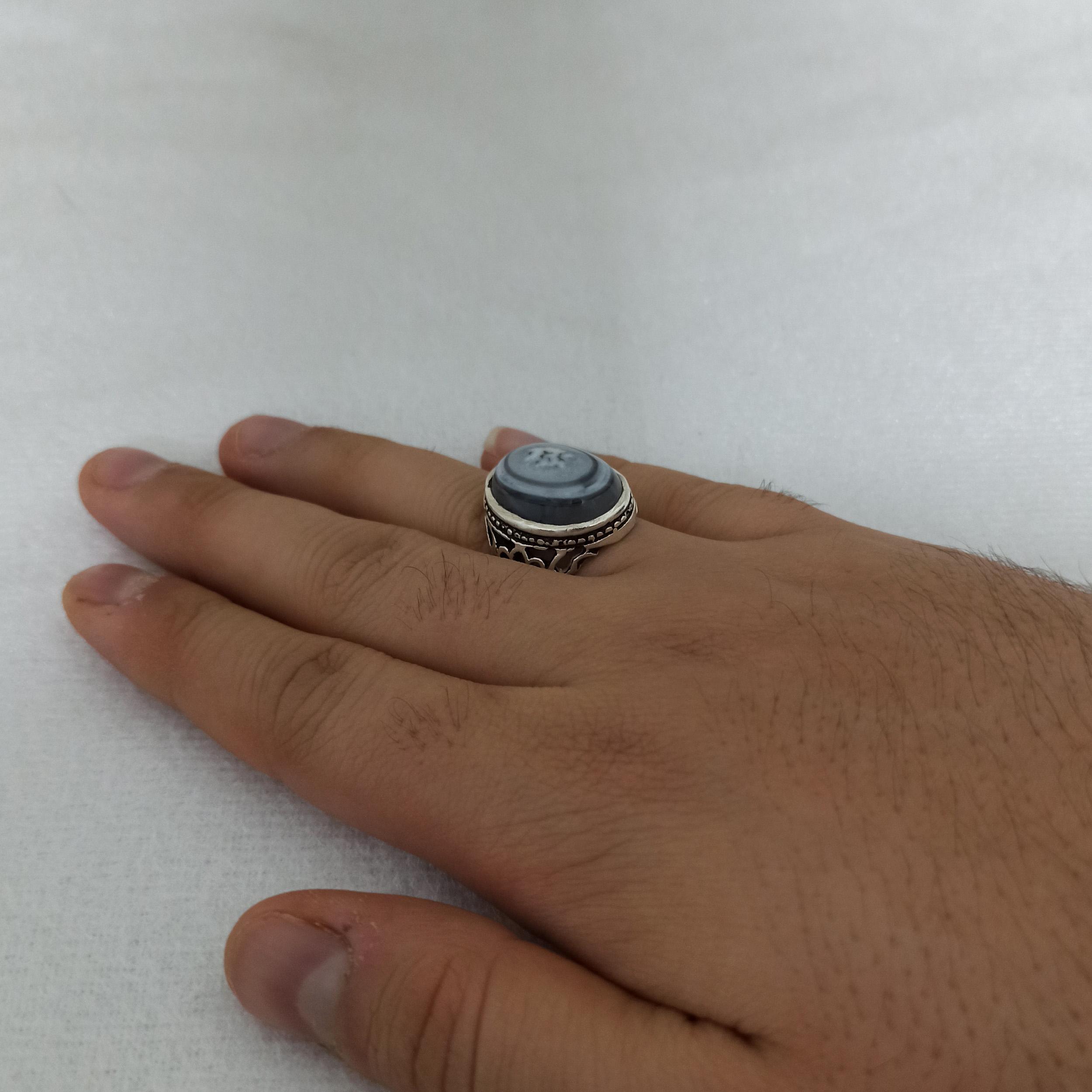 انگشتر نقره مردانه سلین کالا مدل ce-gori1