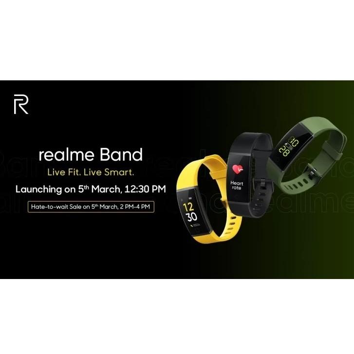 مچ بند هوشمند ریل می مدل Realme Band main 1 11
