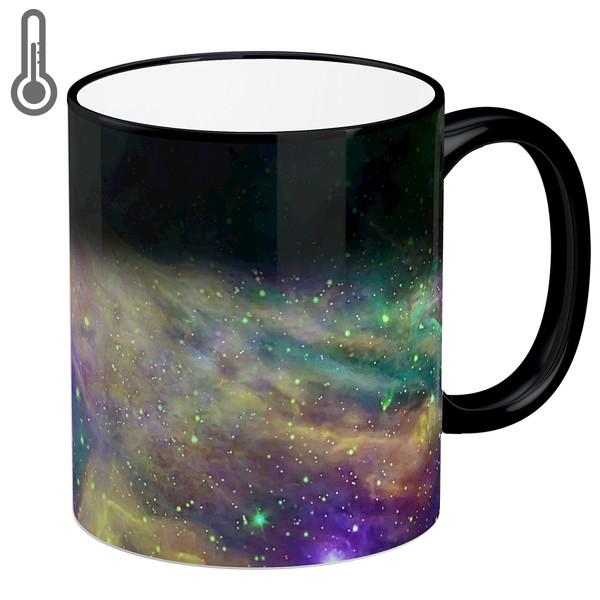 ماگ حرارتی لومانا طرح کهکشان کد MAG1608