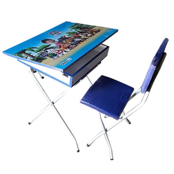 ست میز تحریر و صندلی مدل سگ های نگهبان کد 20001