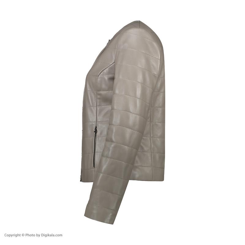 کت چرم زنانه چرم مشهد مدل C0205-008