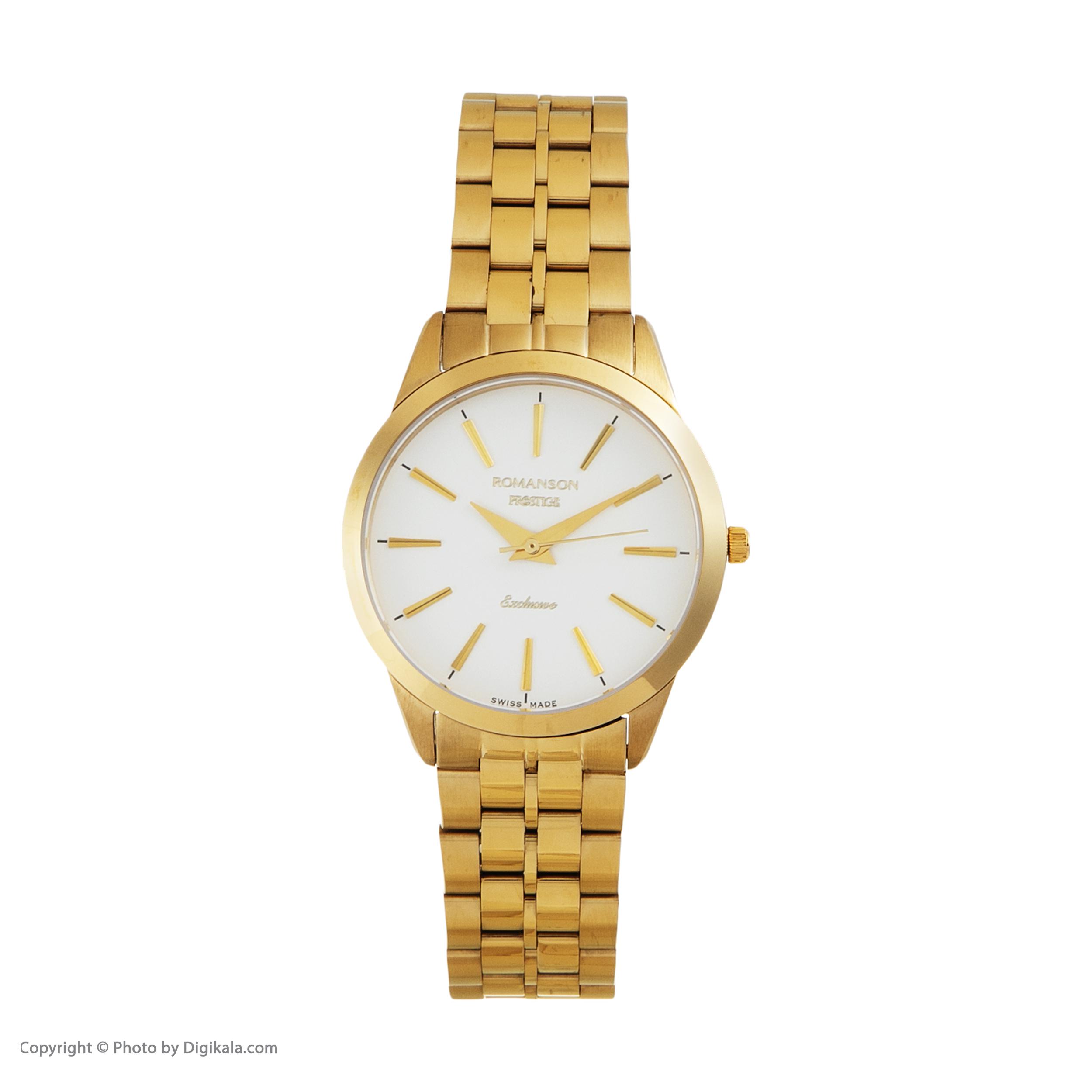ست ساعت مچی عقربه ای زنانه و مردانه مدل TM3256MM1WA12W                     غیر اصل