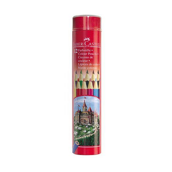 مداد رنگی 12 رنگ فابر-کاستل