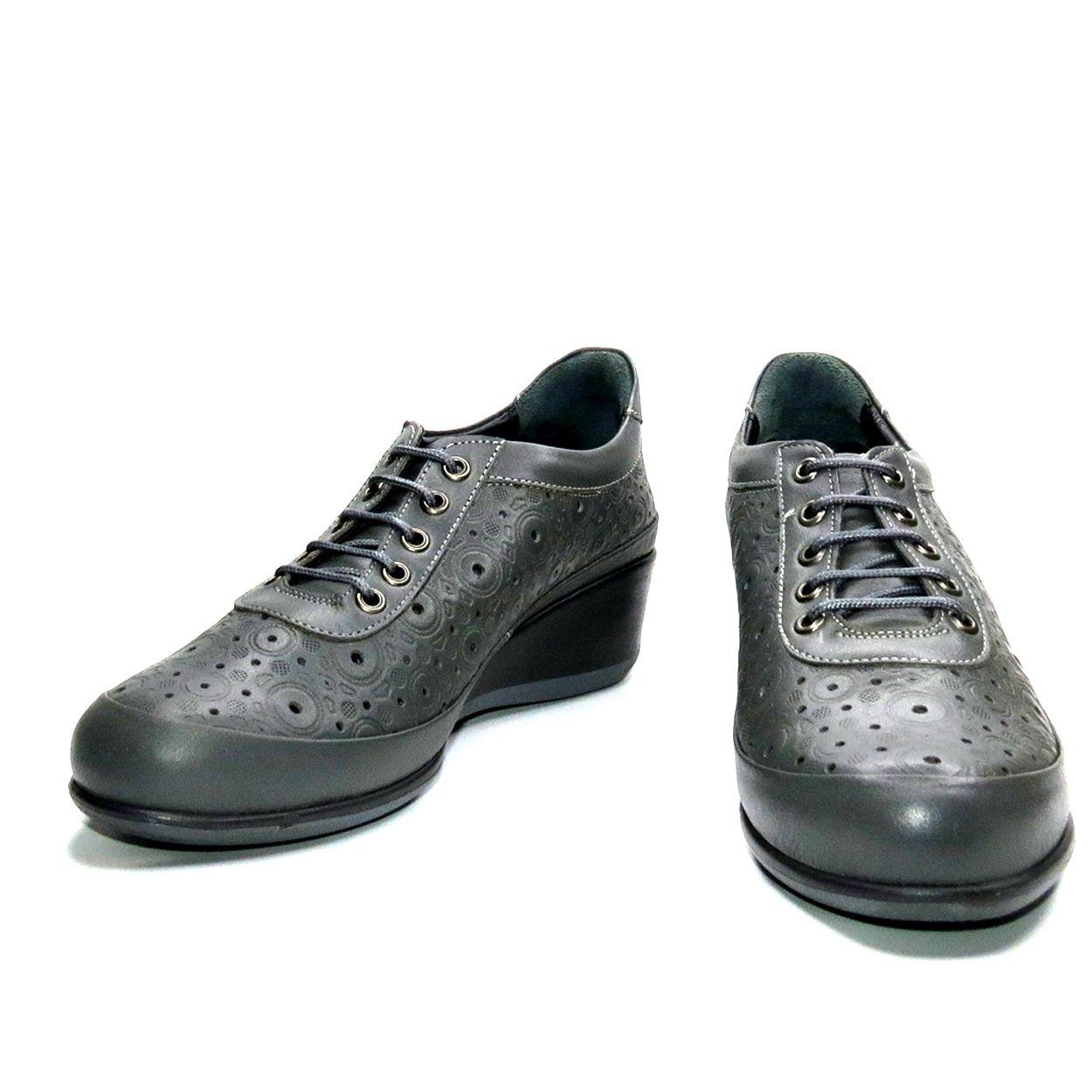 کفش روزمره زنانه آر اند دبلیو مدل 538 رنگ طوسی -  - 6