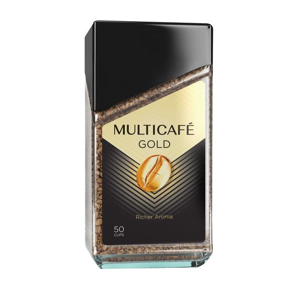 قهوه فوری گلد مولتی کافه - 100 گرم