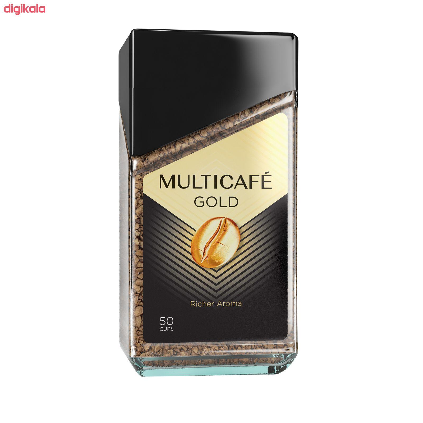 قهوه فوری گلد مولتی کافه - 100 گرم main 1 1