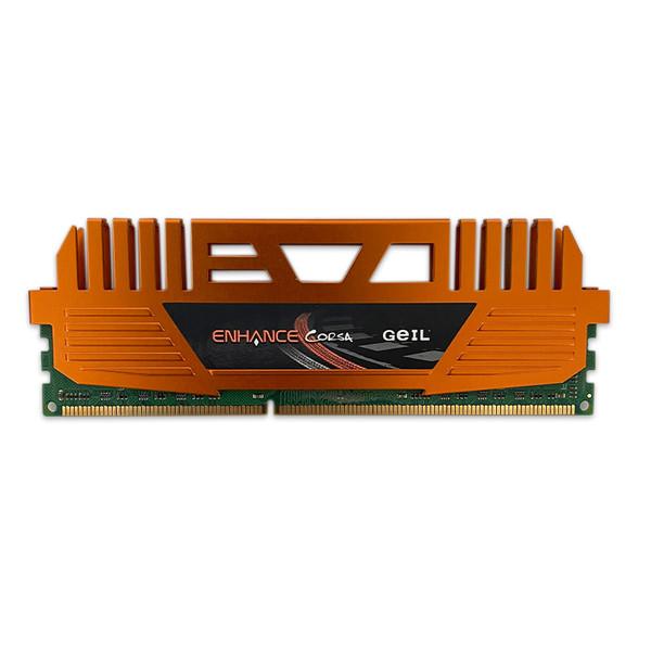 رم دسکتاپ DDR3 تک کاناله 1600 مگاهرتز CL9 گیل مدل ENHANCE CORSA ظرفیت 4 گیگابایت