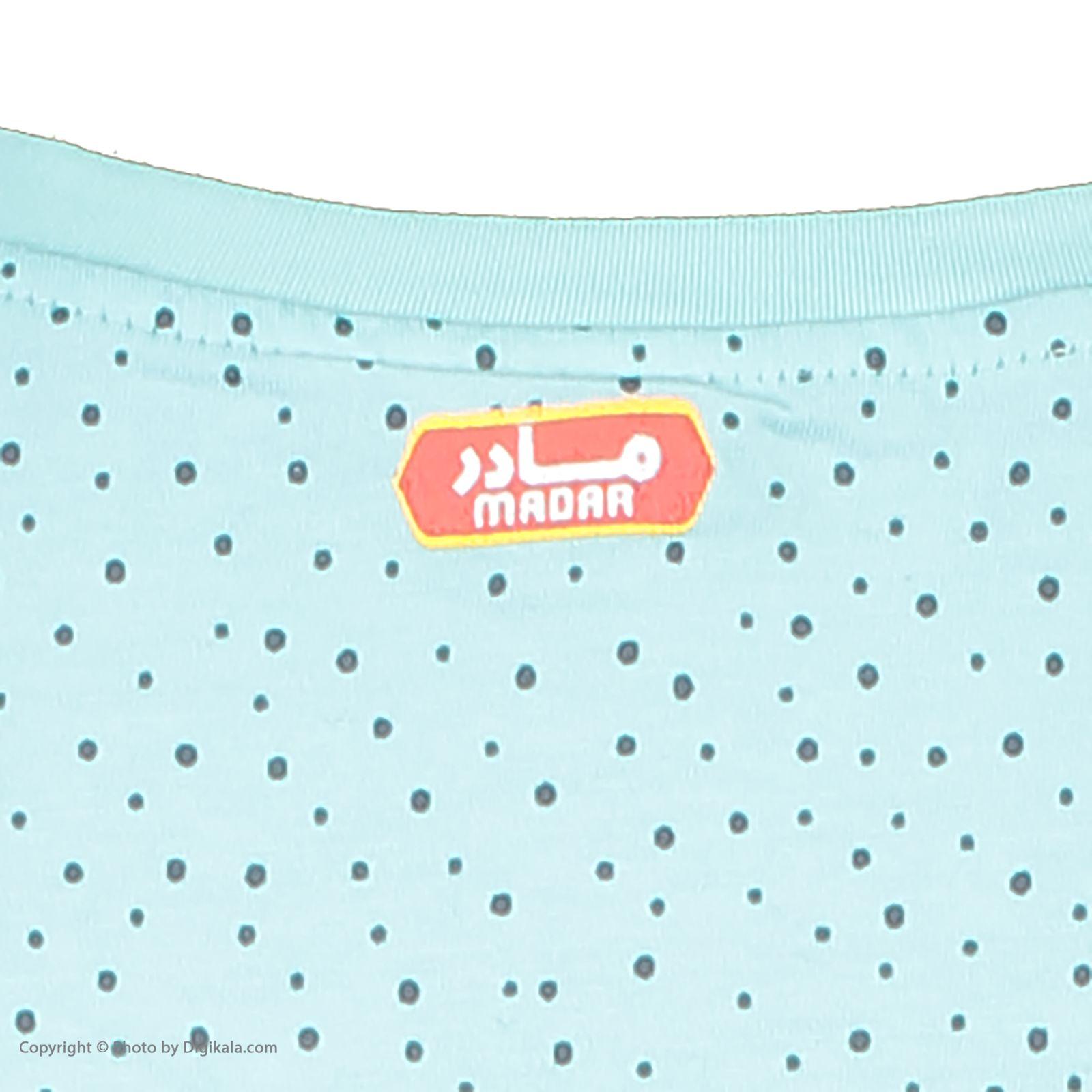 ست تی شرت و شلوارک راحتی زنانه مادر مدل 2041102-66 -  - 7