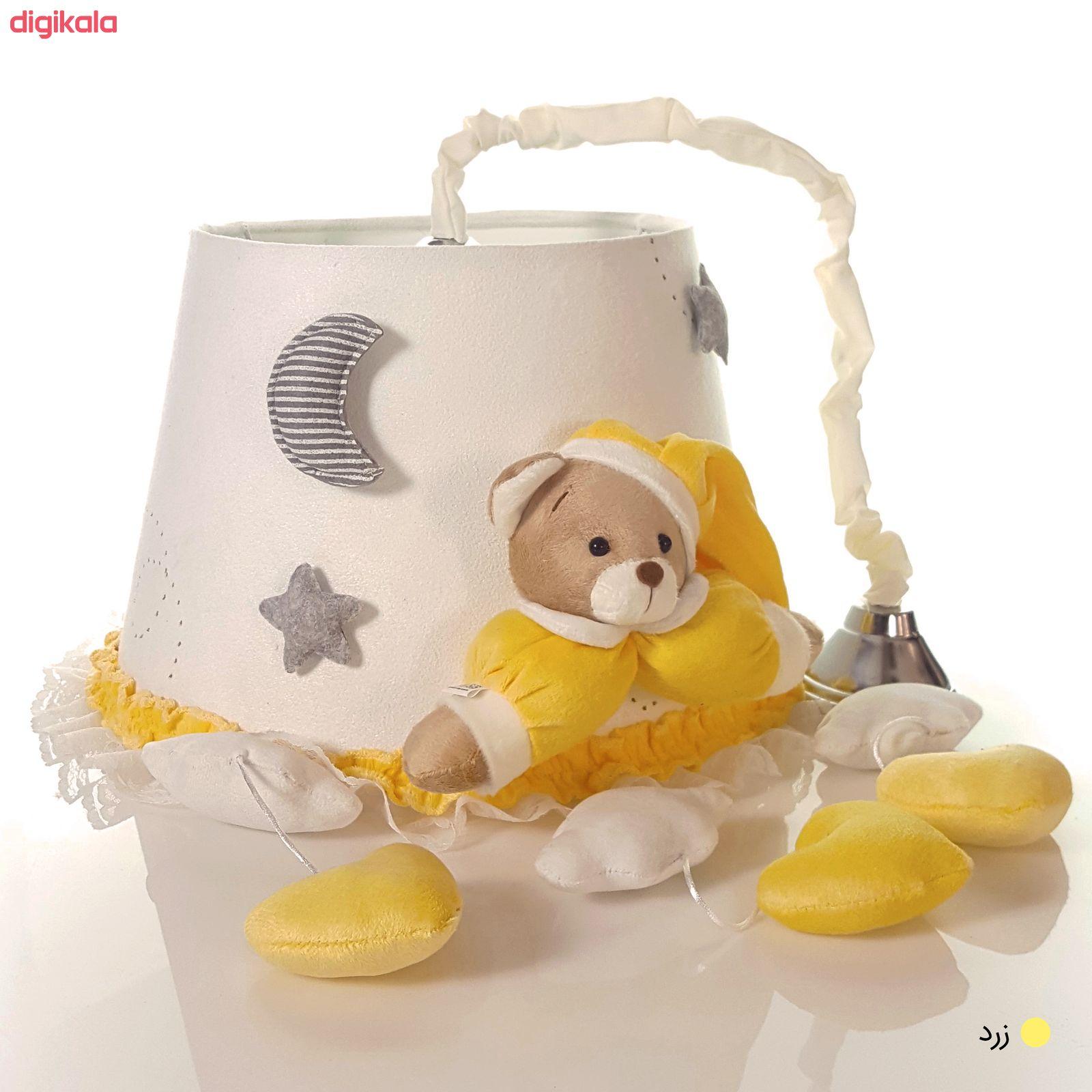 لوستر اتاق کودک طرح خرس نانان کد LMN212 main 1 11