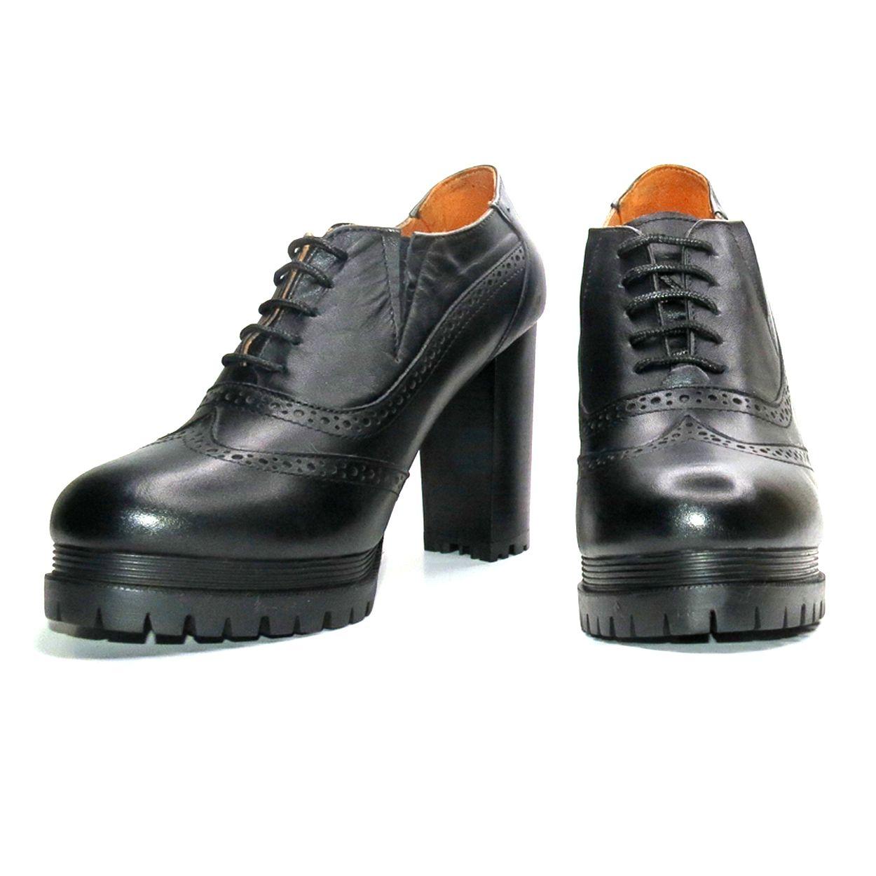 کفش زنانه آر اند دبلیو مدل 603 رنگ مشکی -  - 4
