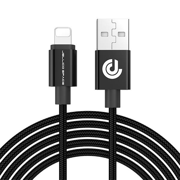 کابل تبدیل USB به لایتنینگ جلیکو مدل KN-10LG طول 1 متر