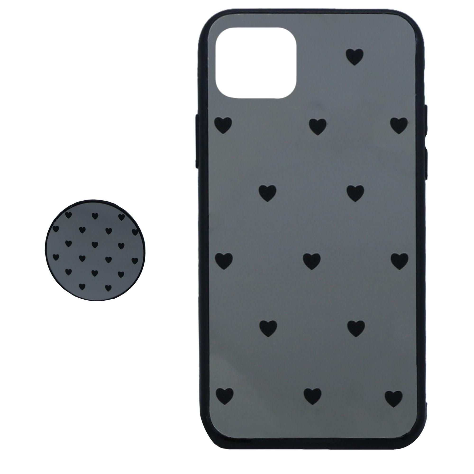 کاور طرح Heart مدل BH-01 مناسب برای گوشی موبایل اپل  Iphone 11 Pro Maxبه همراه نگهدارنده thumb