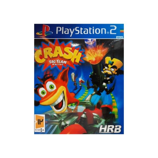 بازی crash team racing مخصوص ps2