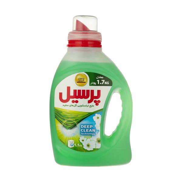 مایع لباسشویی پرسیل Deep Clean با رایحه گل های سفید مقدار 1.1 کیلوگرم