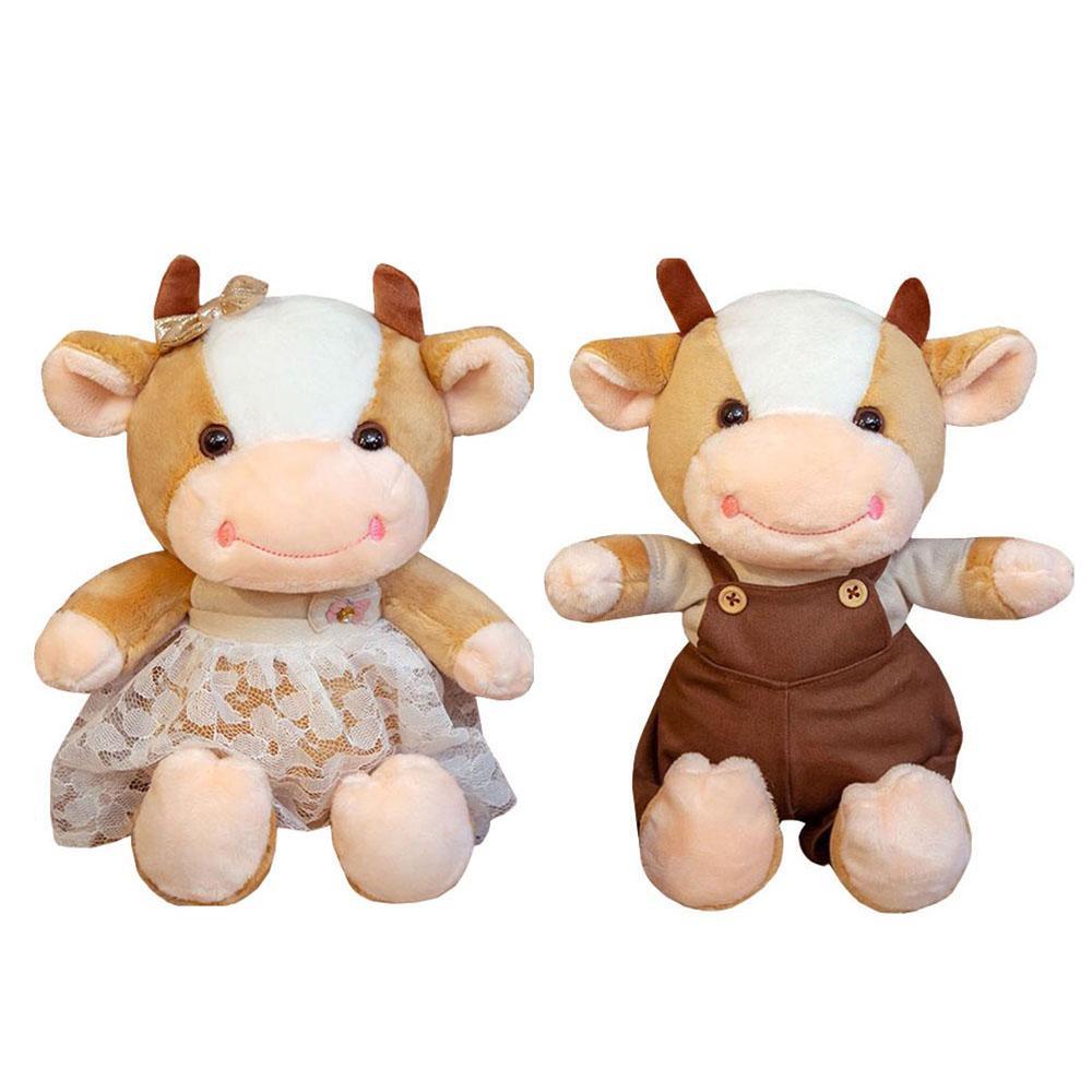 عروسک طرح گاو ارتفاع 30 سانتی متر بسته 2 عددی