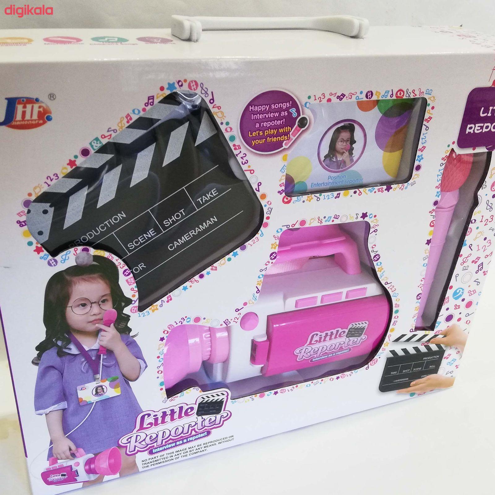اسباب بازیطرح دوربین فیلم برداری و میکروفن کد NO.A29 main 1 1