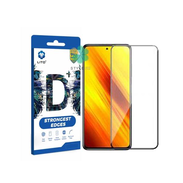 محافظ صفحه نمایش لیتوو مدل +D مناسب برای گوشی موبایل شیائومی Poco X3