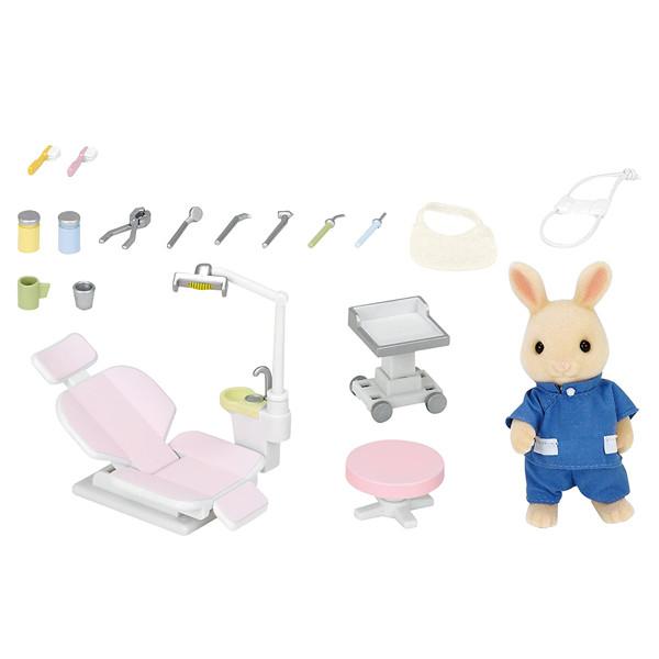 اسباب بازی سیلوانیان فامیلیز مدل ست دندانپزشکی کد 5095