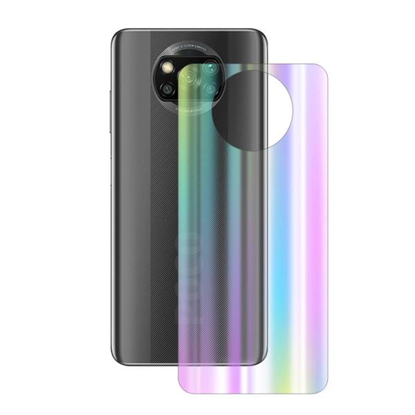 برچسب پوششی راک اسپیس طرح Aurora مناسب برای گوشی موبایل شیائومی POCO X3