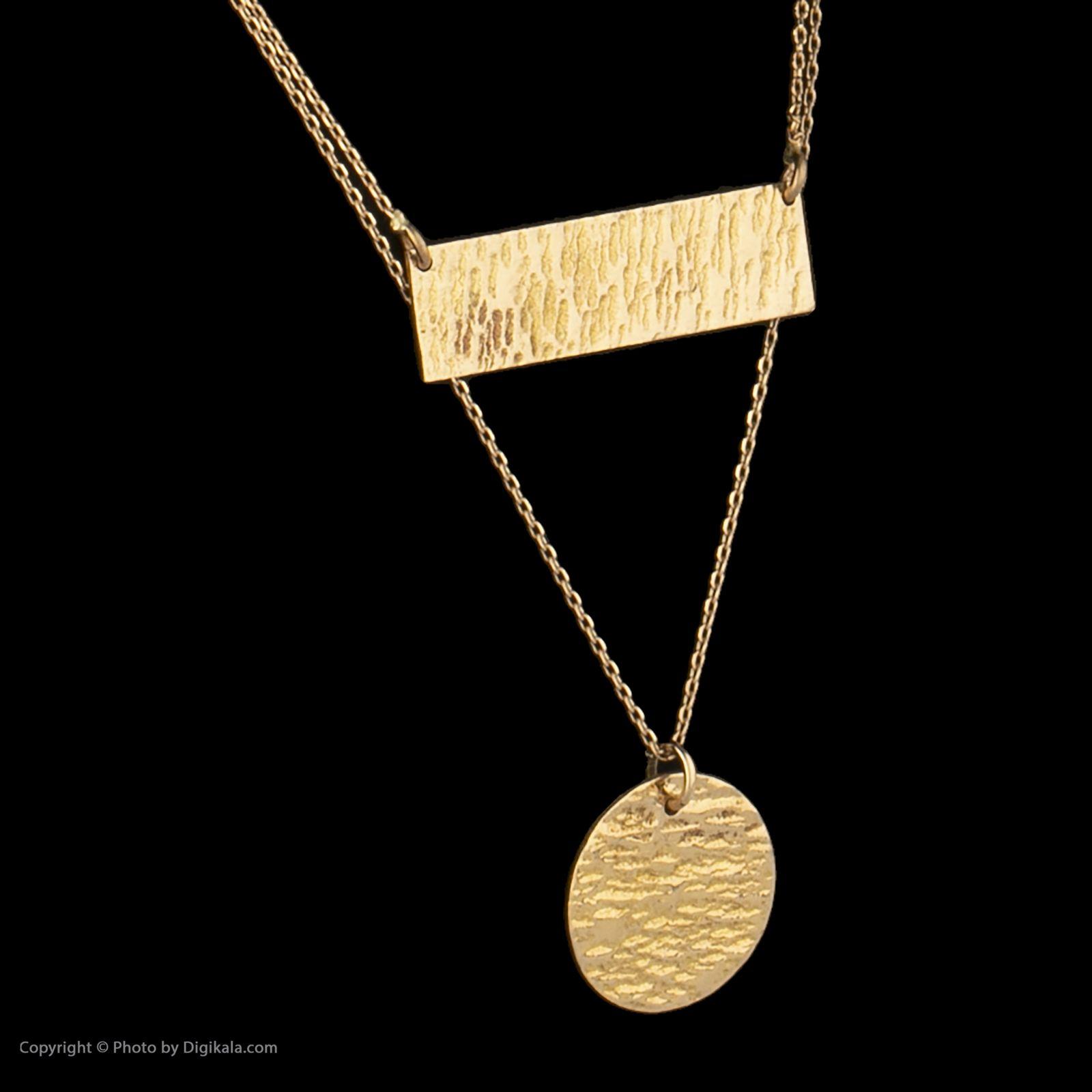 گردنبند طلا 18 عیار زنانه سنجاق مدل X077574 -  - 3