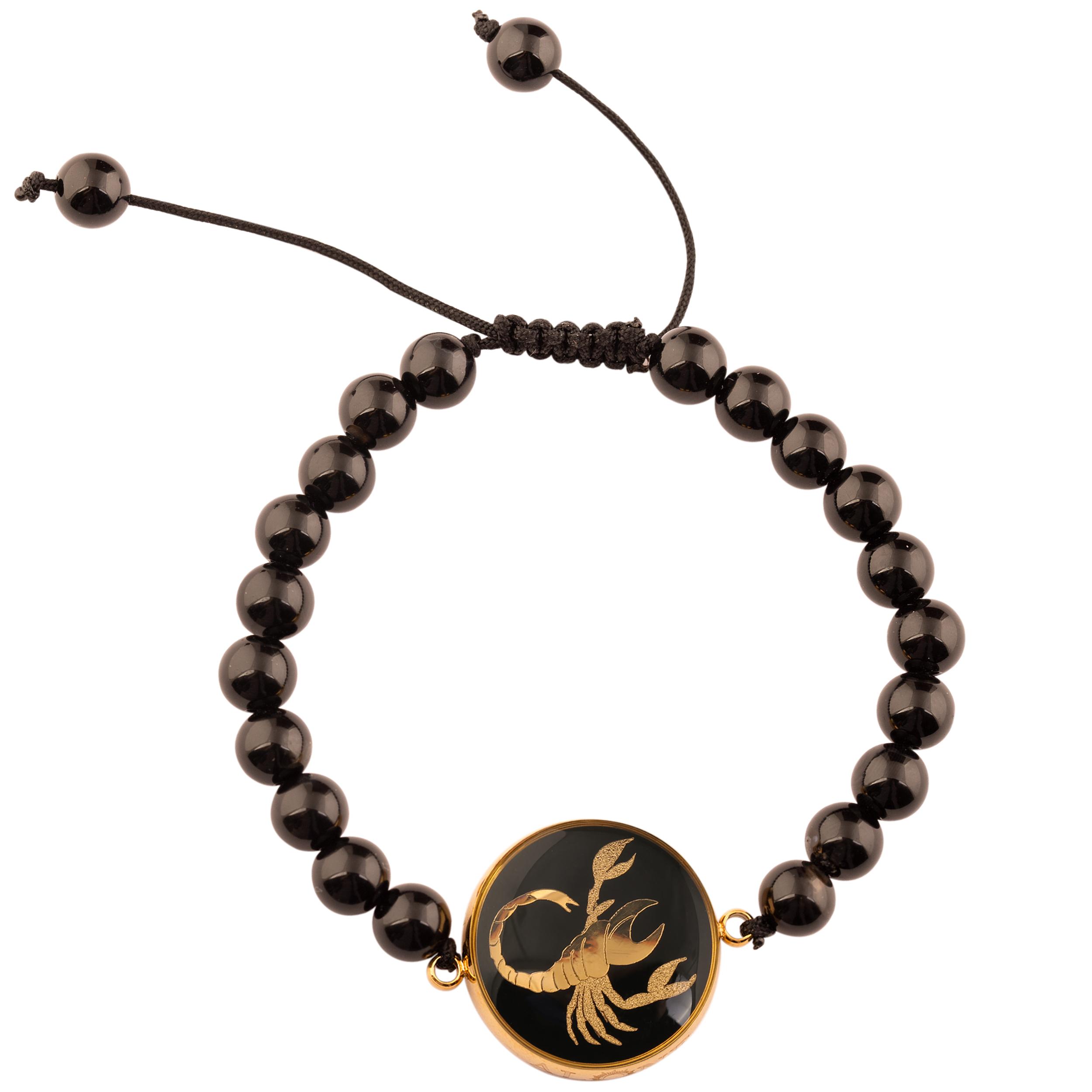 دستبند زنانه الون طرح ماه آبان کد ONI101