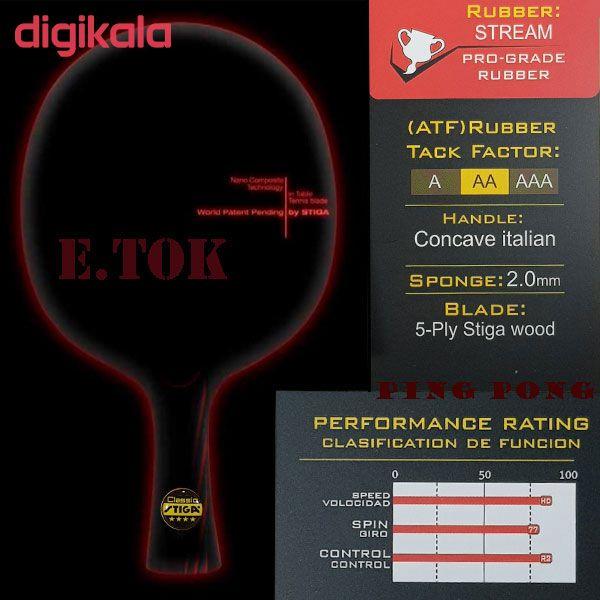 راکت پینگ پنگ مدل  ایتوک main 1 4