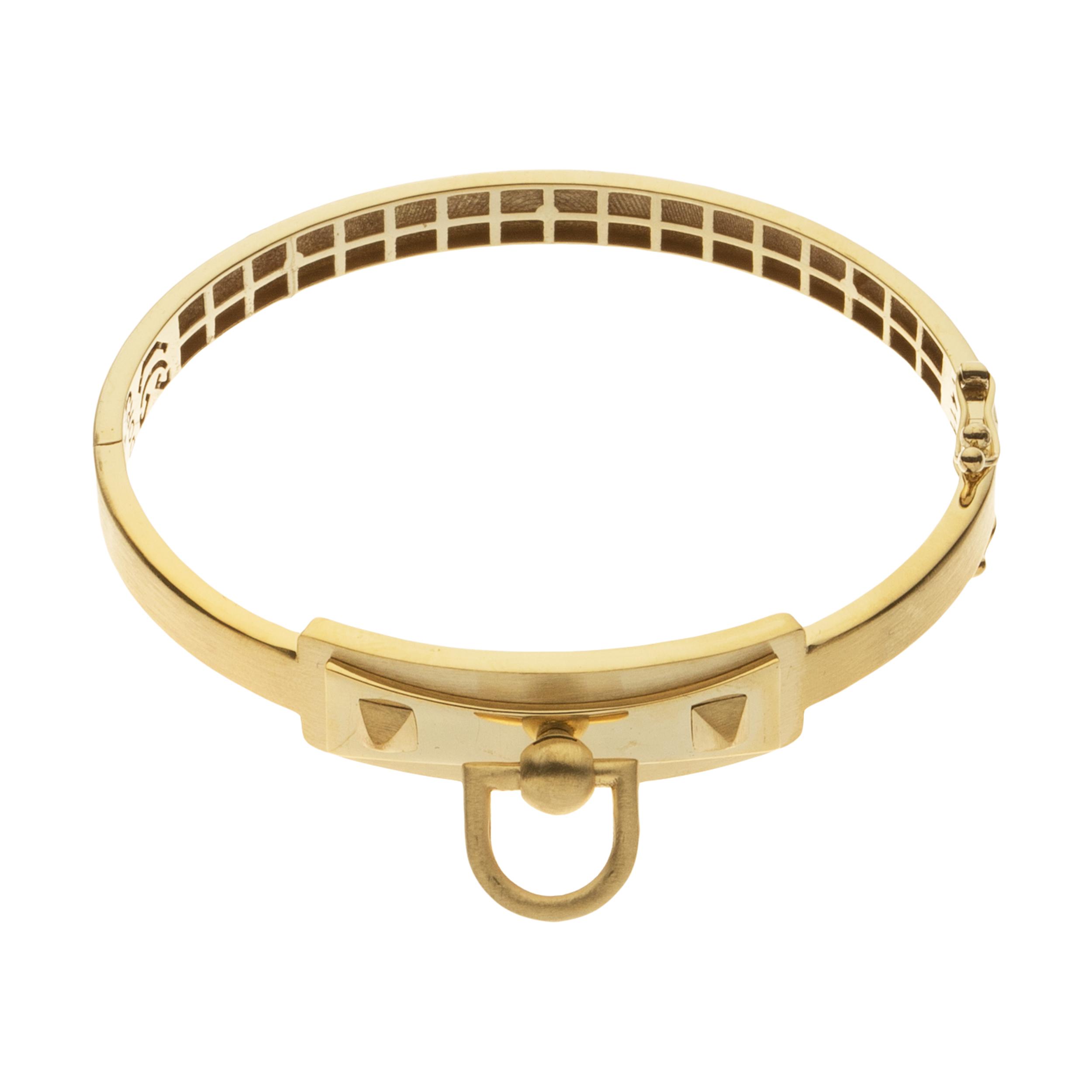 دستبند النگویی طلا 18 عیار زنانه مایا ماهک مدل MB1151