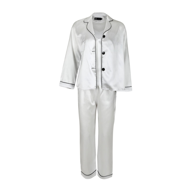 لباس خواب زنانه ناوالس کد SS2020-PJM105-WH