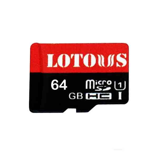بررسی و {خرید با تخفیف}                                     کارت حافظه microSDHC لوتوس مدل U1 533X کلاس 10 استاندارد UHS-I U1 سرعت 80MBps ظرفیت 64 گیگابایت                             اصل