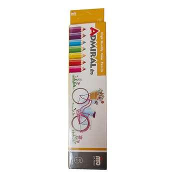 مداد رنگی 6 رنگ ادمیرال کد 17