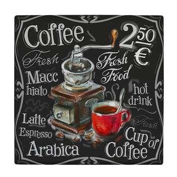 کاشی طرح فنجان قهوه کد wk3085