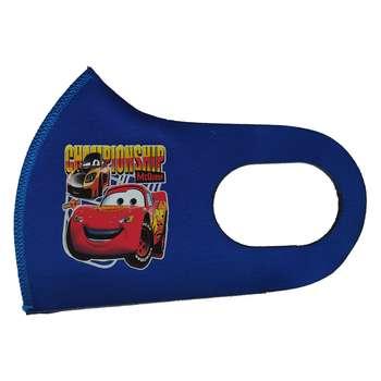 ماسک تزیینی بچگانه طرح ماشین مک کوئین کد 30642 رنگ آبی