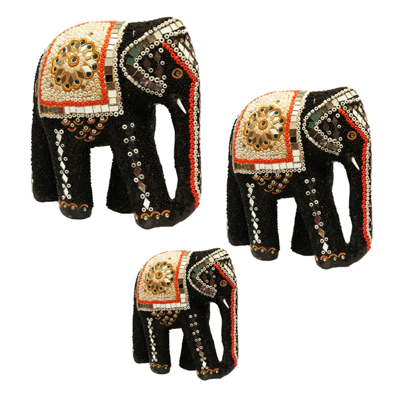 خرید                      مجسمه طرح فیل کد 34 مجموعه سه عددی