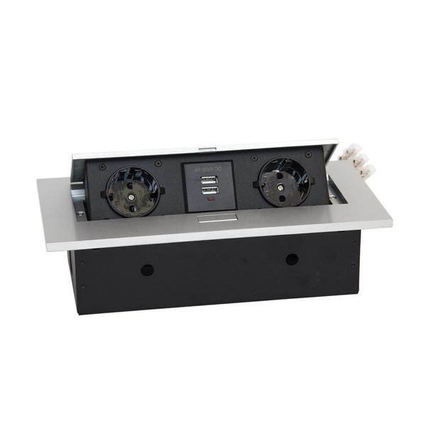 پریز کابینتی نستک مدل EN1-DS06S-22
