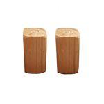 نمکدان چوبی مدل یاس مجموعه دو عددی