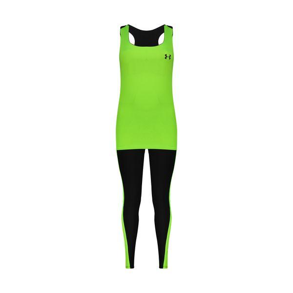 ست تاپ و شلوارک ورزشی زنانه کد Mhr-1040