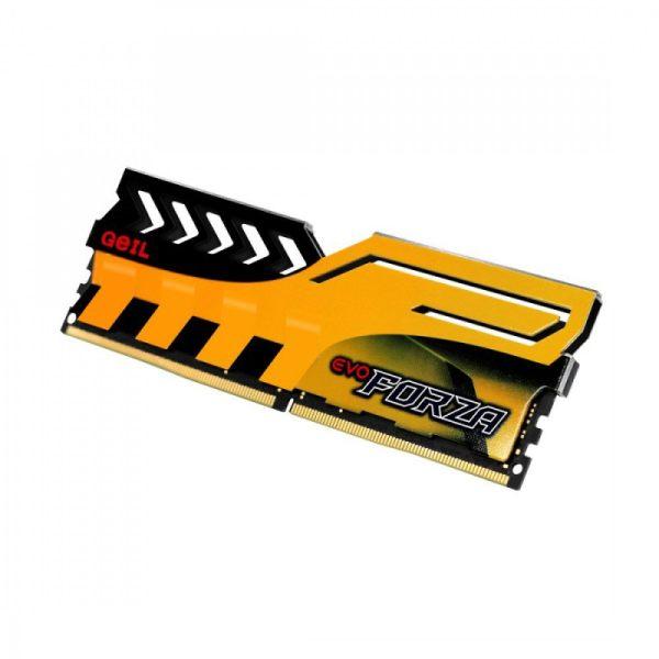 رم دسکتاپ DDR4 تک کاناله 3200 مگاهرتز CL16 گیل مدل Evo Forza ظرفیت 8 گیگابایت