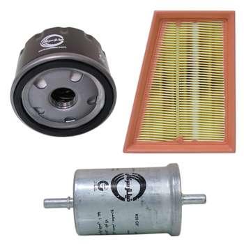فیلتر هوا خودرو سرکان مدل SF1254 به همراه فیلتر روغن و فیلتر بنزین