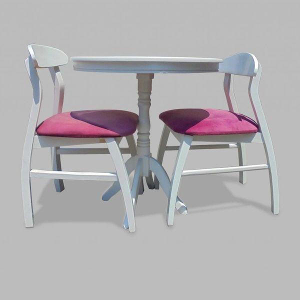 میز و صندلی ناهارخوری مدل Wh2-602