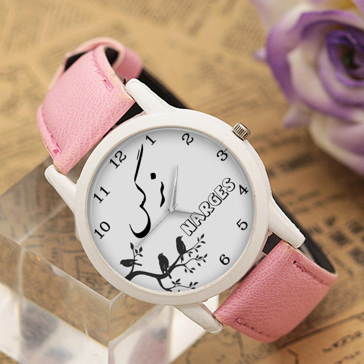ساعت مچی عقربه ای زنانه طرح نرگس کد LF3165              خرید (⭐️⭐️⭐️)