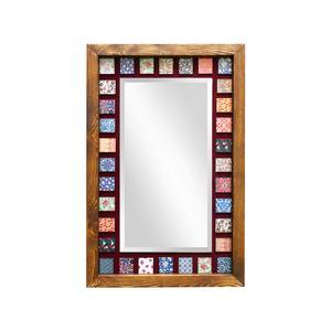آینه چوبی مدل دکوراتیو کد H16